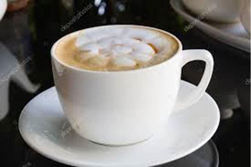 Café espresso com leite