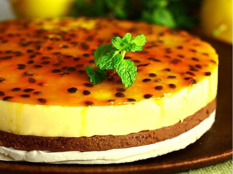 Torta mousse de maracujá Kg